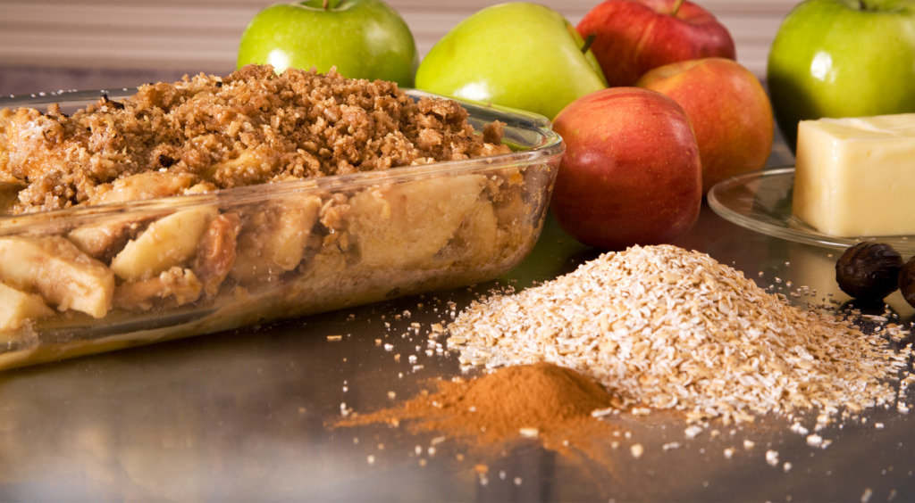 Coach's Oats Apple Crisp