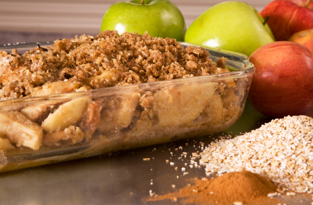 Oatmeal Apple Crisp