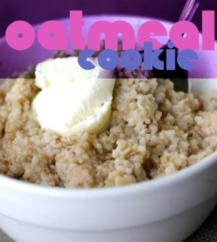 oatmeal cookie oatmeal