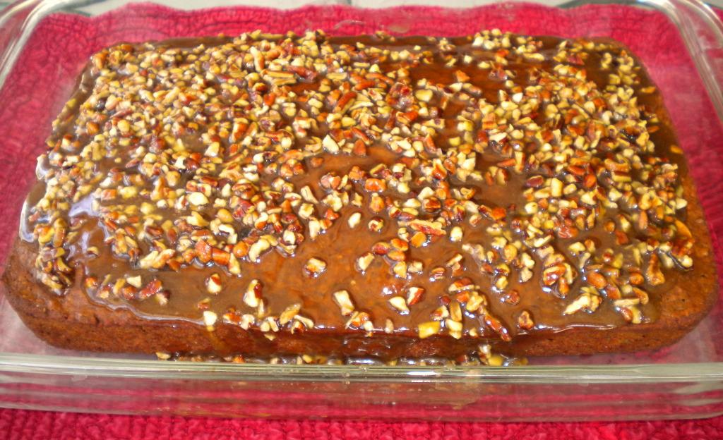 Apple Butter Oat cake