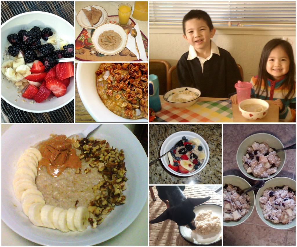 oatmeal month round up