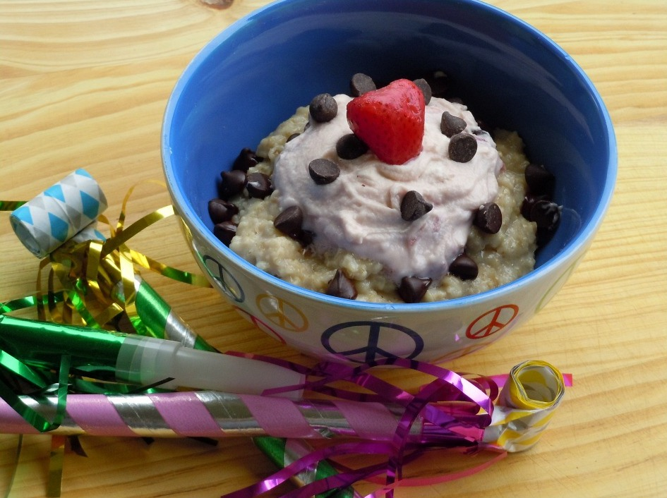 birthday cake oatmeal 002 with frame