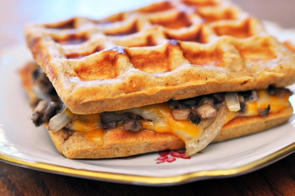 Grilled Cheese Waffle
