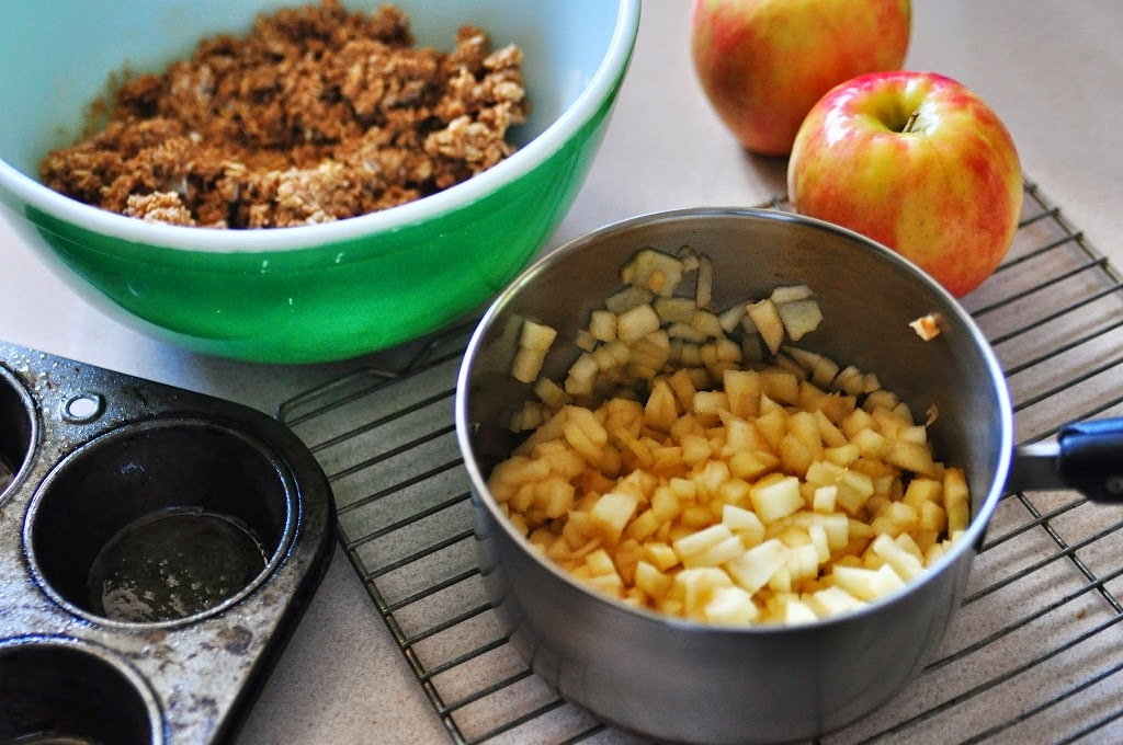 Apple Cinnamon Crumble