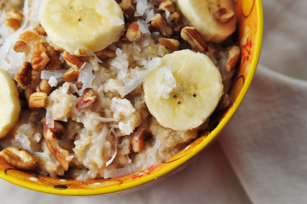 Coconut Banana Oatmeal 0242