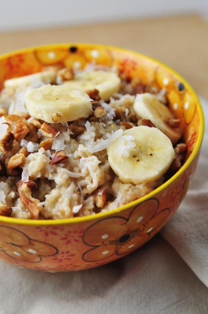 Coconut Banana Oatmeal 0250