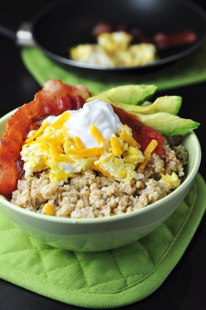 Savory Breakfast Oatmeal