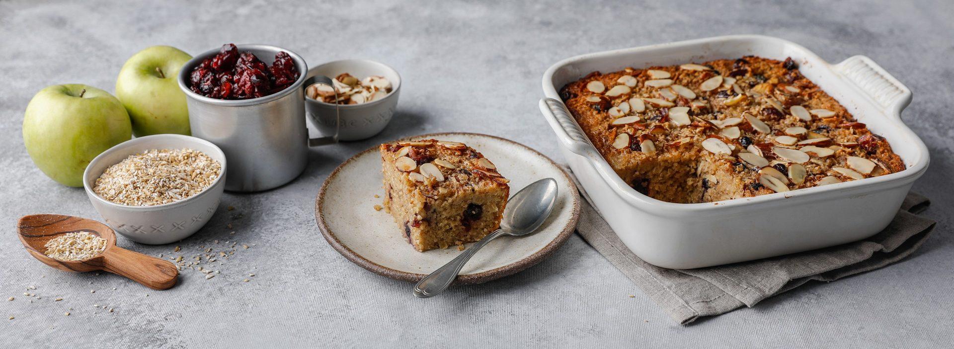 Overnight baked Oatmeal 2020 Winter