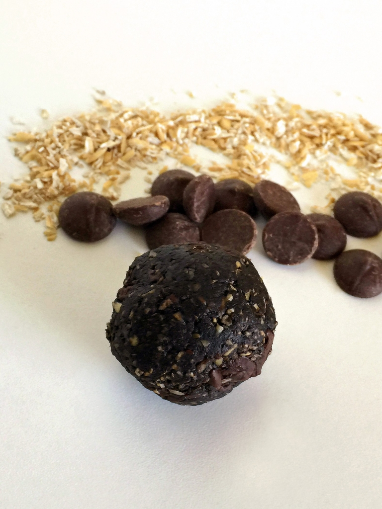 Double Dark Chocolate oatmeal bites