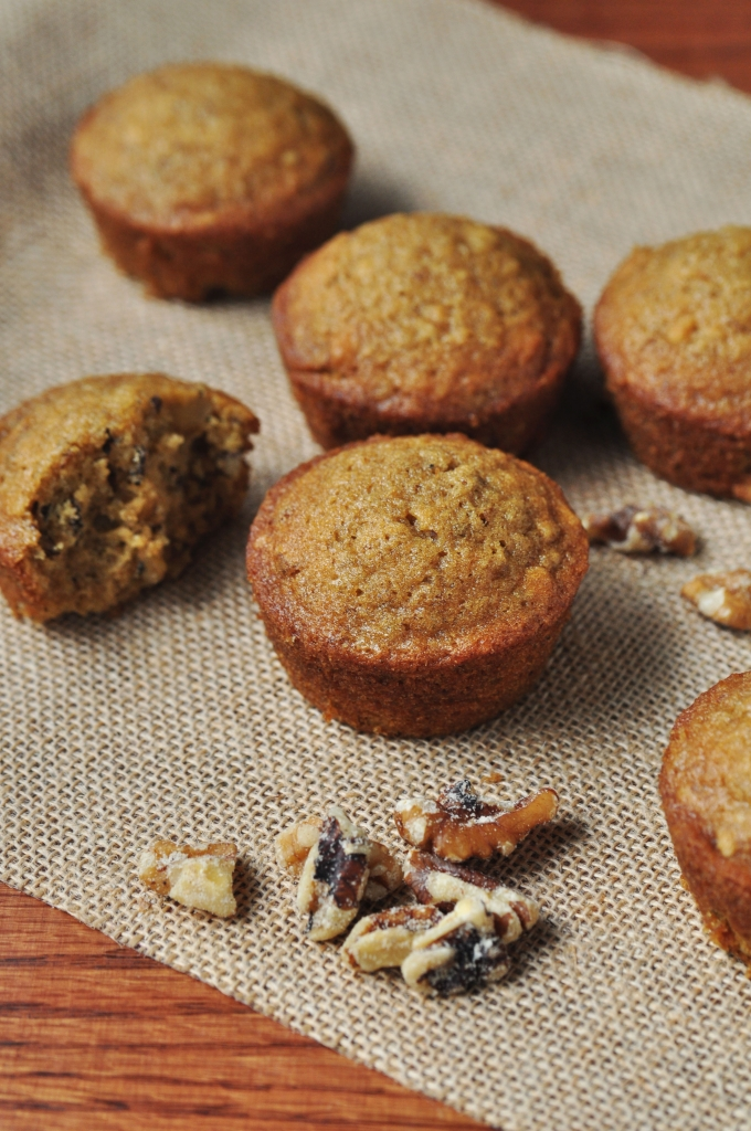 Oatmeal Walnut Muffin