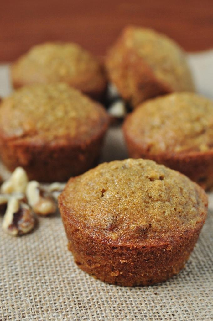 Oatmeal Walnut Muffin