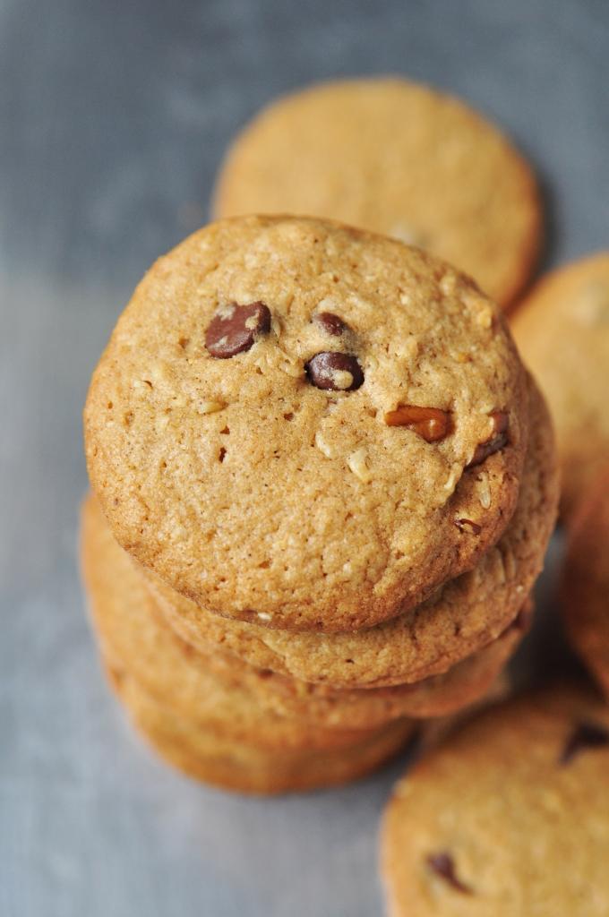 Coach's Oats Chocolate Chip Pecan Cookies