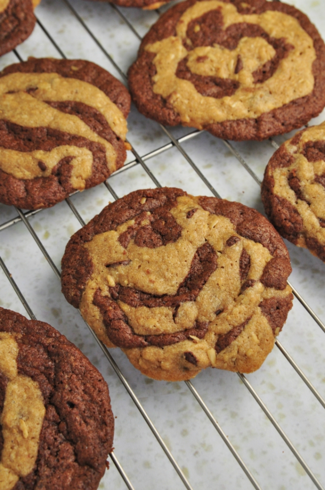 Chocolate Chip swirl cookies