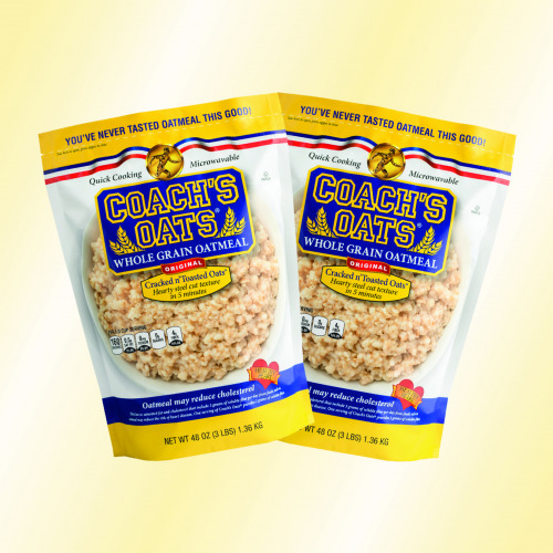 2 bags of delicious Coach's Oats - try some today!