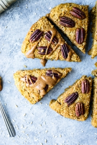 Pumpkin Oatmeal Scones