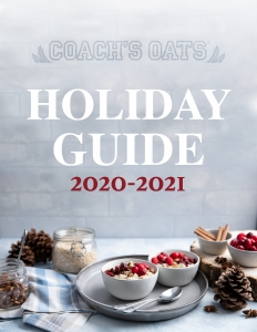 Coach's Oats Holiday Guide 2020 - 2021