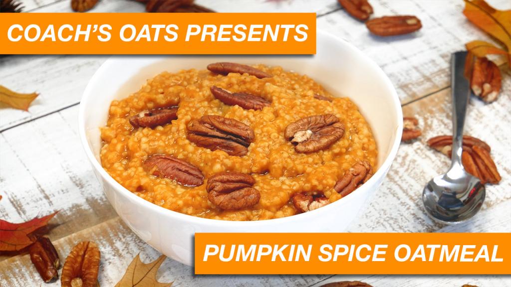 Coach's Oats Pumpkin Spice Oatmeal